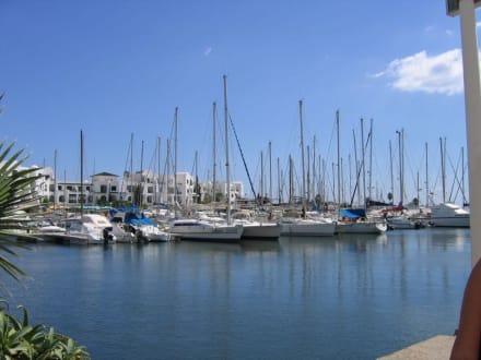 Hafen von Port El Kantaoui - Yachthafen Port el Kantaoui