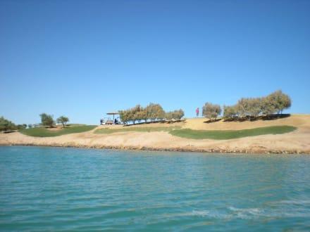 Golfplatz In El Gouna - El Gouna Golfplatz
