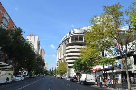 Sonstige Gebäude - Santiago-Bernabéu-Stadion