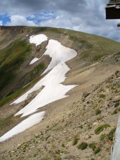 Schnee in Rockxs - Rocky Mountain Nationalpark