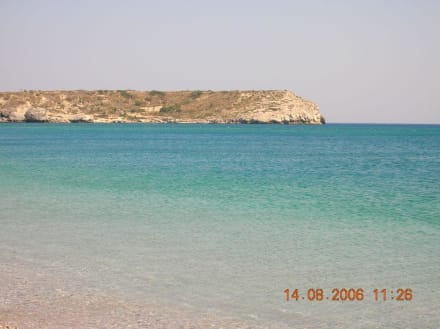 Erfrischung pur - Strand Kolymbia