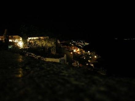 Nachts in Oia - Altstadt Oia