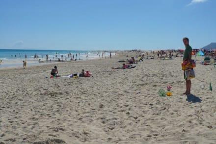 Der Strand - Naturpark Dünen von Corralejo