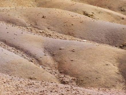 Buntes Lavagestein - Siebenfarbige Erde / Terres des Sept Couleurs / Seven Coloured Earths