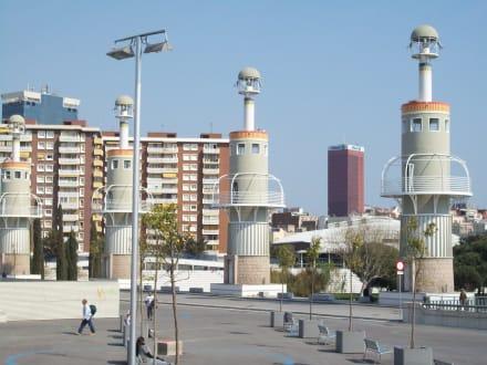 Nein, keine Bungalowturm-Siedlung  - Stadtrundfahrt Barcelona