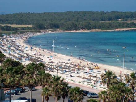 Strand von Sa Coma auf Mallorca - Strand Sa Coma