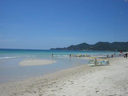 Der schöne Strand von Chaweng - Chaweng Beach