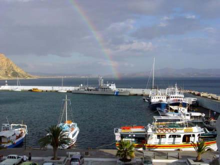Regenbogen - Hafen Aghia Galini/Agia Galini
