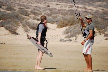 Strand - Kitesurfschule ChrisDickKiteboarding Costa Calma