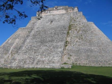 """Tempelanlage """" Uxmal"""" - Ausgrabung Uxmal"""