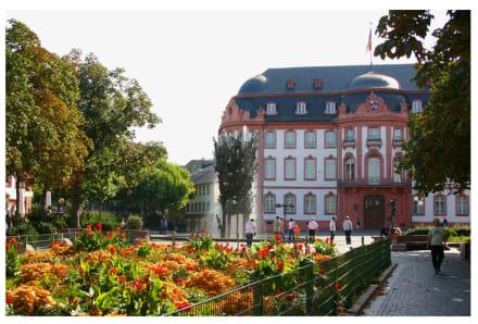 Schillerplatz mit Fastnachtsbrunnen - Schillerplatz