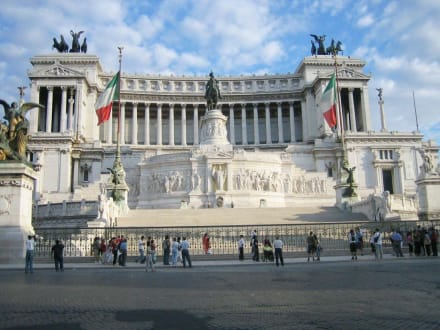 Monumento Nazionale Vittorio Emmanuele II - Monumento Nazionale a Vittorio Emmanuele II