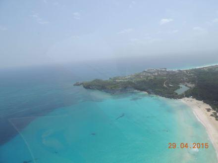 Es fehlen die Worte - Helikopter-Rundflug Punta Cana