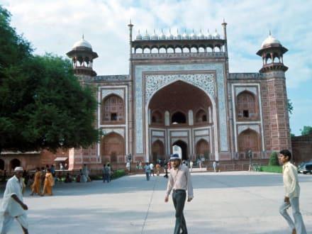 Das rote Fort in Neu Delhi - Rotes Fort