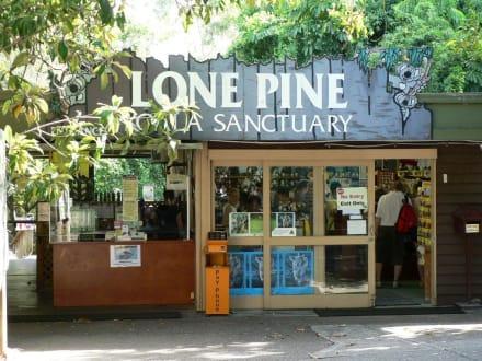 Eingang zum Lone Pine Koala Sanctuary - Lone Pine Koala Sanctuary