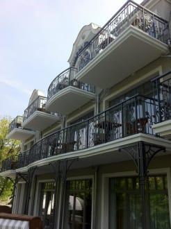 Neue Balkone, meerseitig gelegen - Europa Hotel Kühlungsborn