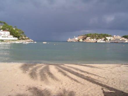 Ruhe vor dem Sturm - Strand Puerto de Soller/Port de Soller