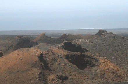 Vulkankrater - Nationalpark Timanfaya (Feuerberge)