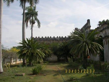 Innenhof Hacienda - Sisal Hacienda Yaxcopoil