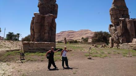 Besuch der Kollosse von Menos - Luxor Ausflug