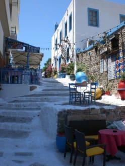 Eingang zu einem Restaurant Bild 2 - Altstadt Kos Stadt