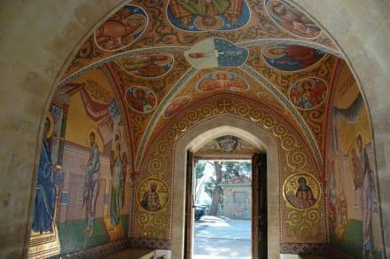 Bemalung im Eingangsbereich - Kloster Kykkos / Kykkou