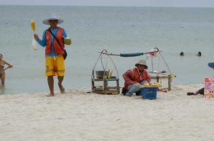 Strandverkäufer - Chaweng Beach