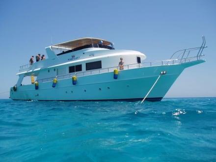 An der blauen Lagune - Ausflug mit Mohamed