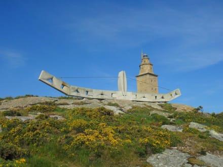 Burg/Palast/Schloss/Ruine - Herkulesturm - Torre de Hércules