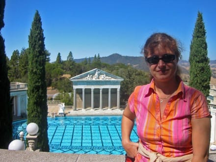 Neptune Pool, man möchte sofort reinspringen - Hearst Castle