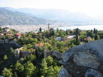 Die Burg von Alanya, Türkei - Burg von Alanya  (Ic Kale)