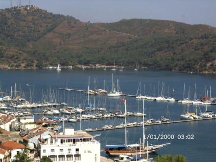 Hafen von Fethiye - Yachthafen Fethiye