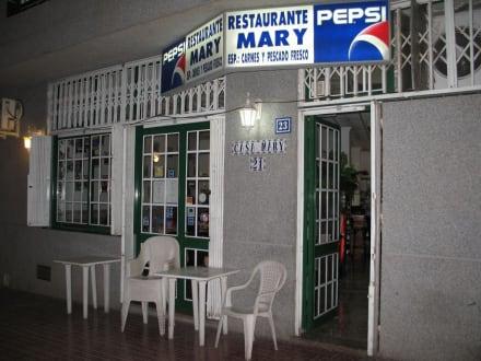 Aussenansicht Restaurant Casa Mary - Restaurant Casa Mary