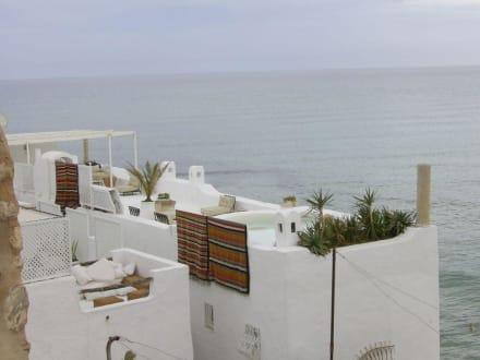 Ausblick von der Kasbah (das Meer) - Medina