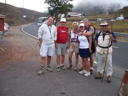 Wandergruppe zum Agua del Teide - Teide Nationalpark