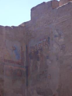 Malerei koptischer Christen - Luxor Tempel