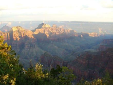 North Rim Grand Canyon Sonnenuntergang - Grand Canyon