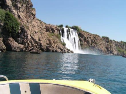 Wasserfall Antalya - Unterer Düden Wasserfall / Karpuzkaldiran Şelalesi