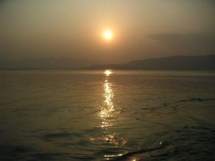 Sonnenuntergang am Westsee - Westsee
