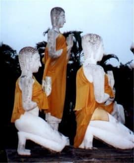 Buddha Figuren - Wat Phanan Choeng