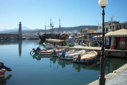 Rethymnon - Hafen Rethymno