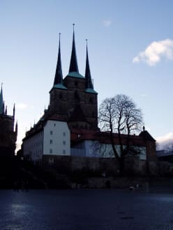 Erfurter Dom im Winter - Erfurter Dom