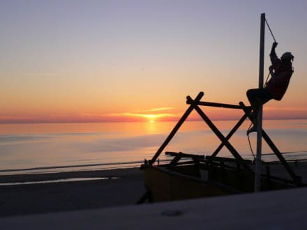 Sonnenuntergang mit Pirat - Wonnemeyer