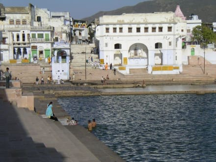 Gats in Pushkar - Pilgerstädte Pushkar