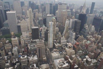 Häuserschluchten - Empire State Building