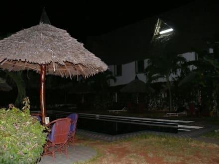 Garten mit Pool - African Pot