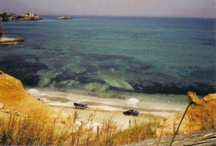 Es gibt Strand in Chersonissos - Strand Chersonissos/Hersonissos