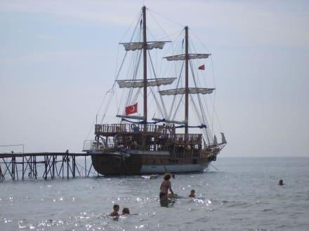 Die Calypso in voller Pracht - Bootstour Calypso Colakli