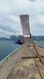 Auf dem Boot - Strand Ao Nang