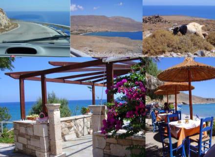 Anfahrt nach Kato Zakros und Akrogiali - Kretas äußerster Osten
